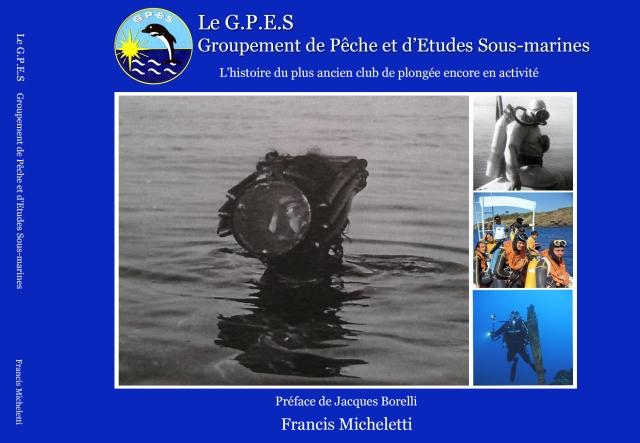 """Et voici la couverture officielle. La photo représente Jean Flavien Borelli, le fondateur du GPES portant un masque """"Le Prieur""""  à Saint-Raphaël, en 1937"""